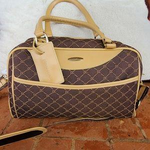Pierre Cardin Vintage Travel Bag